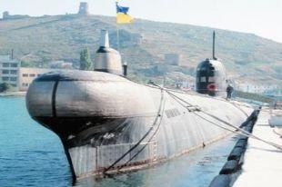 Российские военные захватили украинскую подлодку «Запорожье»