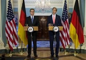 США и Германия призывают Россию не вооружать Сирию