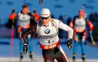 Биатлон: Симон Эдер выиграл гонку преследования, лучший из украинцев - одинадцатый