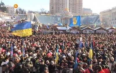 Завтра на Майдане в Киеве состоится Вече за Единство Украины