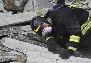 Землетрясение в Италии: Один человек погиб, четверо находятся под завалами