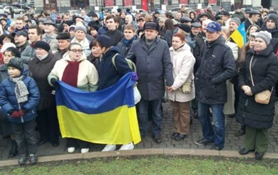 В Харькове одновременно проходят два митинга: за Россию и единство Украины