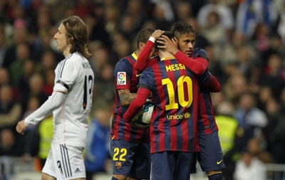 Фотогалерея. Триллер в Мадриде: Как Барселона Реал переиграла