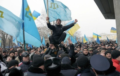 Меджлис опровергает вступление крымских татар в Нацгвардию