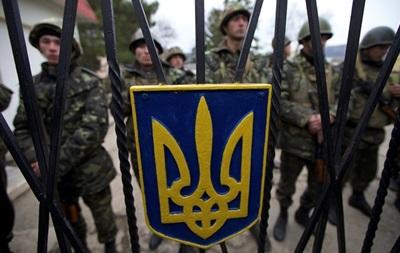 Почти 50% военных в Крыму уже перешли на сторону российской армии
