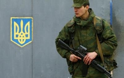 Тернополь готов разместить у себя одну из крымских воинских частей