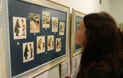 Выставка открыток начала ХХ века