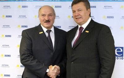 Лукашенко раскритиковал Януковича  как друга