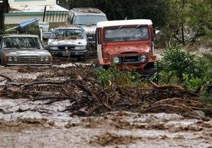 Шварценеггер объявил режим ЧП в нескольких районах Калифорнии из-за угрозы наводнения