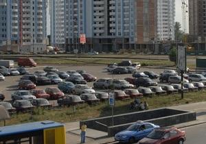 Мэрия намерена привлечь инвесторов для строительства 79-ти парковок в Киеве