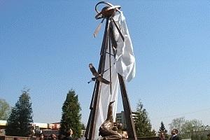 Ликвидаторов аварии на ЧАЭС почтили памятником во Львове