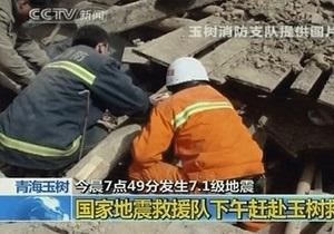 Число жертв землетрясения в Китае возросло до 400 человек, тысячи получили ранения