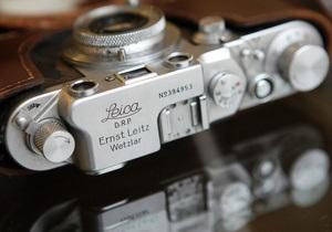 Раритетный фотоаппарат Лейка продали за 1,6 миллиона евро
