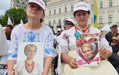 Съезд партии Батькивщина