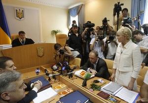 Тимошенко утверждает, что в Украине действует преступная группировка во главе с Президентом