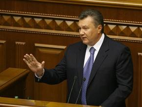 Янукович высказался против развала коалиции