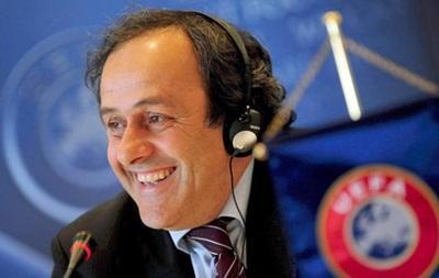 Платини: Только я могу обойти Блаттера на выборах президента FIFA