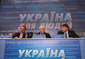 Подсчет голосов в Крыму: Штаб Януковича отправляет в автономию группу нардепов