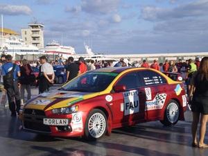 Prime Yalta Rally 2010 . Кубок президента остался в Украине