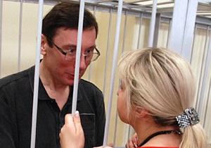 Луценко запрещают в СИЗО видеться с младшим сыном