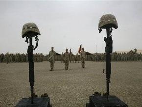 За семь лет в Афганистане погибли более тысячи солдат НАТО