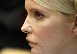 Тимошенко призывает объединиться для выполнения критериев, необходимых для подписания Соглашения с ЕС