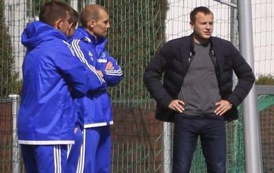Олег Гусев пришел на тренировку Динамо