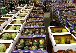 Украина усилила контроль за импортом овощей из Евросоюза