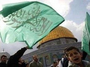 Палестинцы отметили день рождения ХАМАС