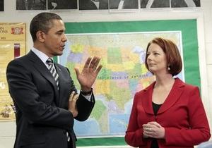 Обама: НАТО рассмотрит все варианты реагирования на ситуацию в Ливии, включая военные