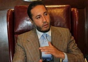 Сын Каддафи попросил Интерпол отказаться от его розыска