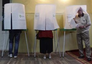 В Грузии на нескольких участках из-за нарушений пройдут перевыборы