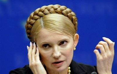 На Донбассе  не рекомендуют  Тимошенко появляться на публике