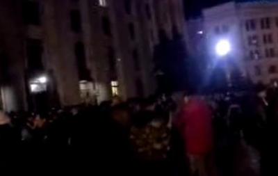 Милиция контролирует здание Харьковской ОГА, активисты находятся лишь в фойе