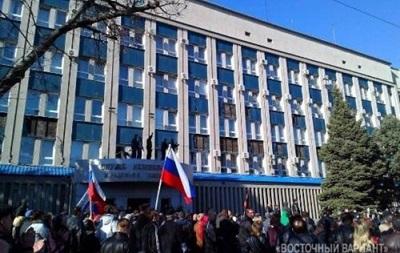 СБУ требует разминировать здание спецслужбы в Луганске и отпустить заложников
