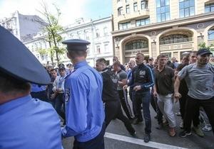 Партия регионов заявляет о своей непричастности к организации беспорядков в центре Киева