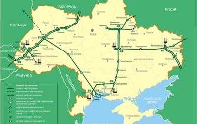 Укртранснафта предложила переработать технологическую нефть из нефтепроводной системы Украины