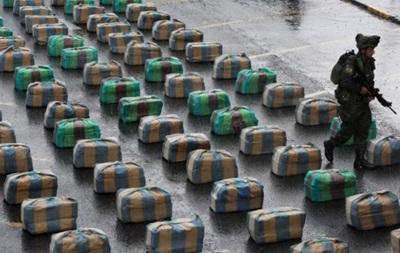 В Колумбии изъяли самую большую партию кокаина за 8 лет
