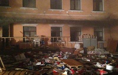Симоненко о пожаре в офисе КПУ: Это был умышленный поджог