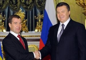 Завтра Янукович посетит Москву