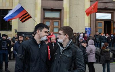 В Харькове под управлением МВД митингуют в поддержку Беркута