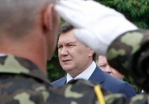 Янукович: Вступление Украины в НАТО нереально