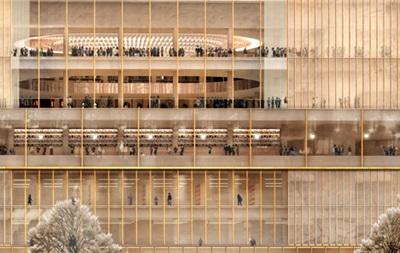Нобелевская премия обзавелась новой стеклянной штаб-квартирой