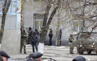 Это наши ребята : захват райотдела милиции, вертолеты и дисскусии о  бандеровцах  в Славянске