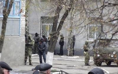 В Славянске началась антитеррористическая операция