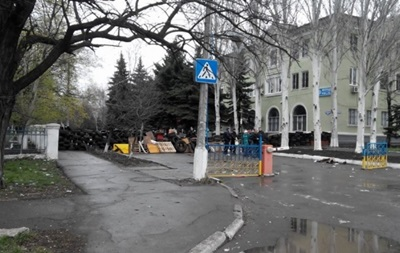 В Краматорске протестующие установили блок-пост возле военного аэродрома - СМИ