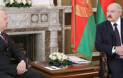 Турчинов для меня  абсолютно легитимен - Лукашенко