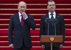 Пресса России: протесты не испортили праздника тандему