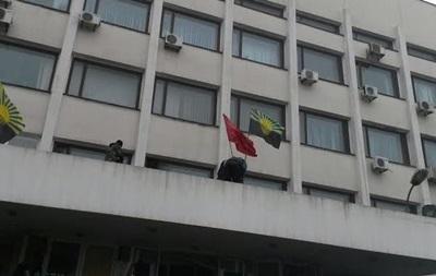 В Мариуполе митингующие захватили горсовет