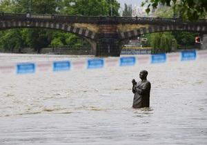 Прага пережила пик наводнения